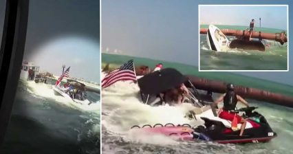 Rescue Cam: Three Children, Six Adults Saved From Sinking Boat | A&E